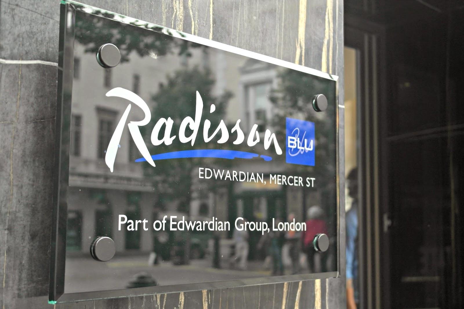 Radisson Blu Mercer Street review