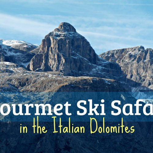 Crystal ski Dolomites