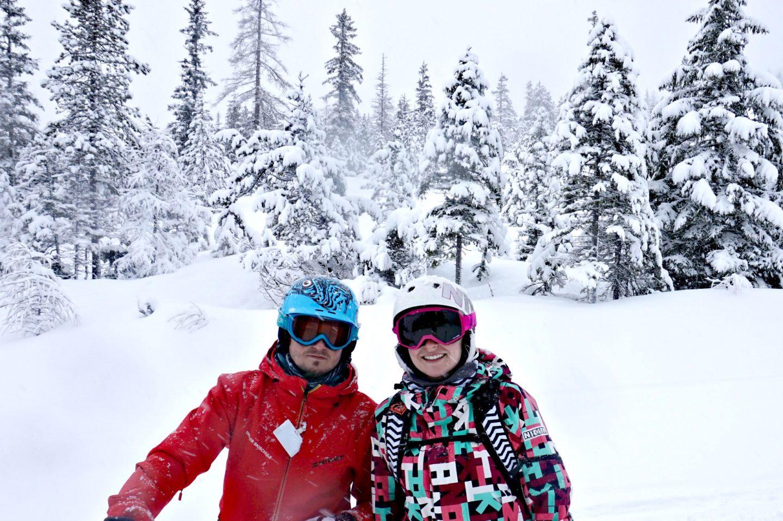skiing in zugspitz