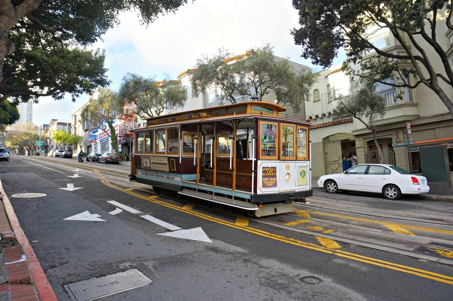 San Francisco trolley ride