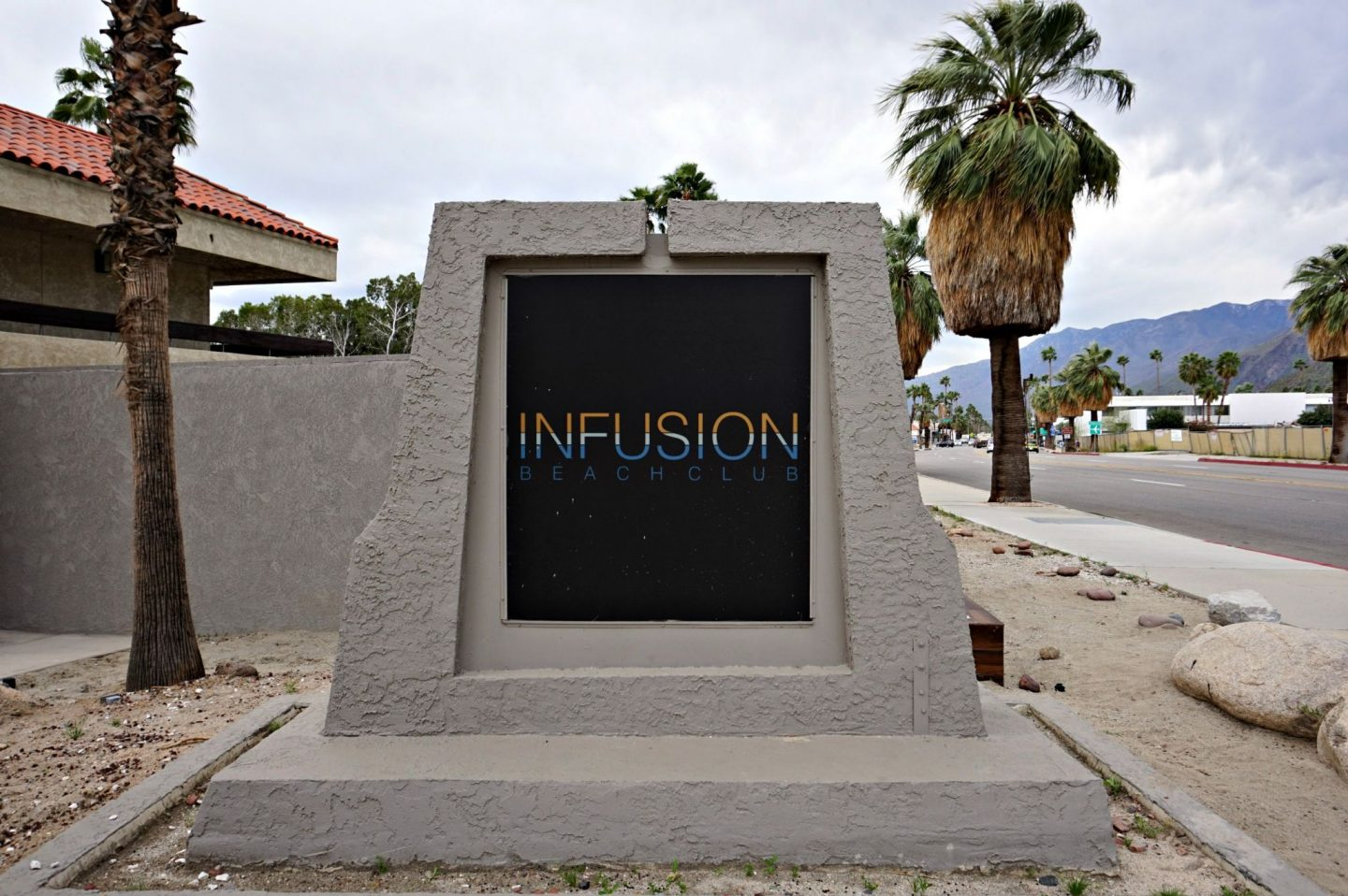 Infusion Beach Club Palm Springs review