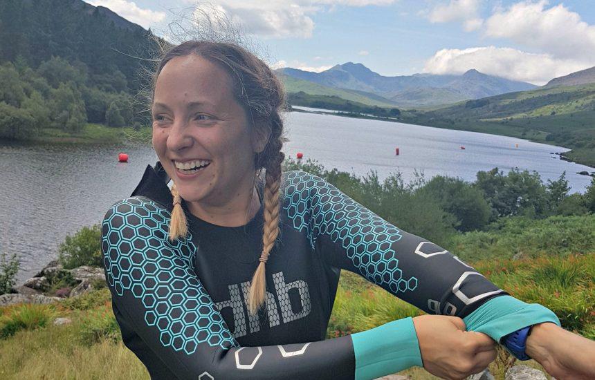 Open water swimming kit